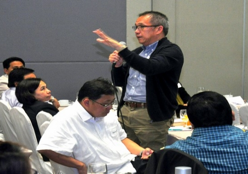 SteelAsia executives hold 1st Quarter 2015 Business Review at SMX
