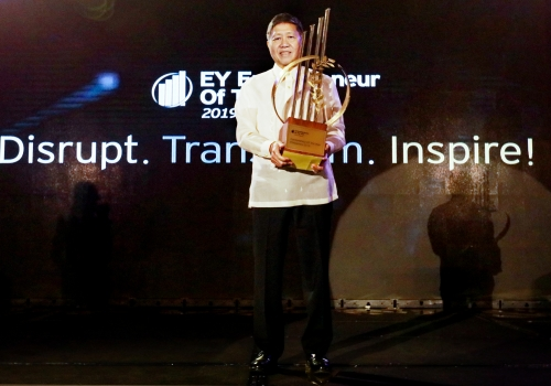 SteelAsia CEO to represent ph in world entrepreneur of the year awards