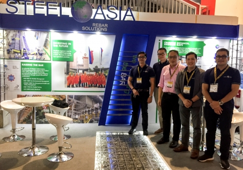 SteelAsia at Philconstruct: rebar products and solutions for Build! Build! Build!